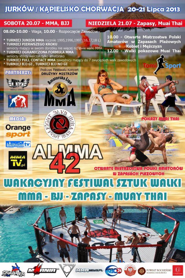 plakat ALMMA 42