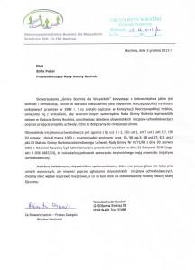 pismo doprzew.rady gminy