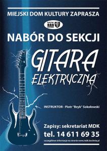 Nabór dosekcji gitara elektryczna