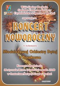 Koncert woratorium - plakat
