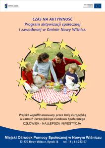 Plakat informacyjny oprojekcie