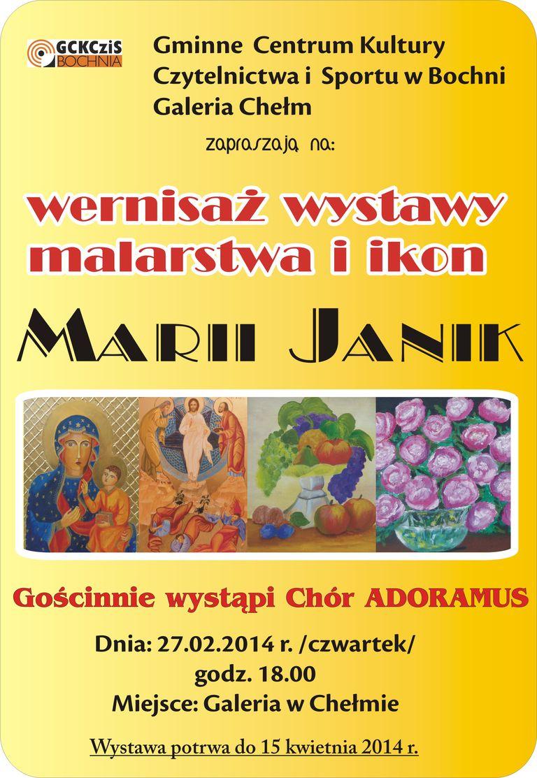 wystawa Marii Janik