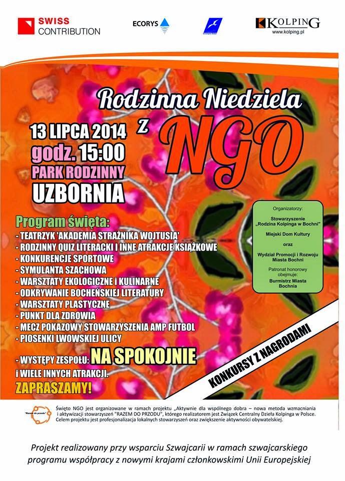 plakat NGO piknik