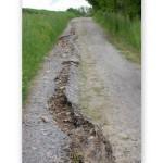Majowe straty powodziowe w Łapanowie