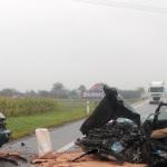 Wypadek w Rzezawie, 01.10.2014
