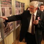 """Wernisaż wystawy o legionach i wspólne śpiewanie u """"Bochniaków"""" , 23.10.2014"""