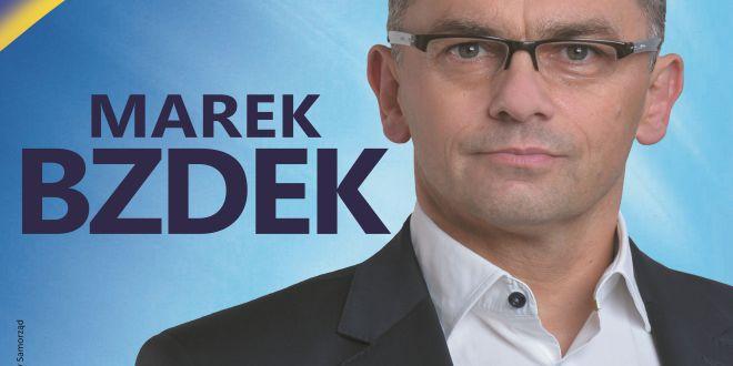 Marek Bzdek Zastępcą Będzie Mieszkaniec Gminy Wywiad Z