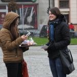 Happening Szlachetnej Paczki na rynku, 22.11.2014