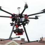 Testowano drona na bocheńskim rynku, 18.12.2014