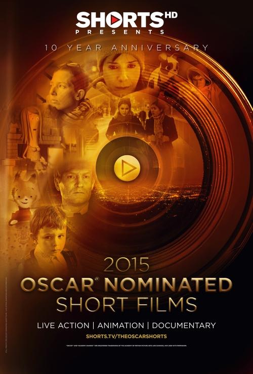 OSCAR® NOMINATED SHORT FILMS 2015_PLAKATm