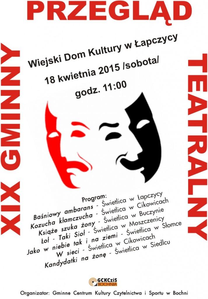 XIX Gminny Przegląd Teatralny