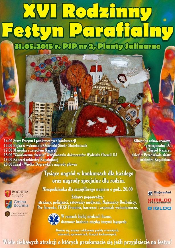 plakat XVI Festyn mini