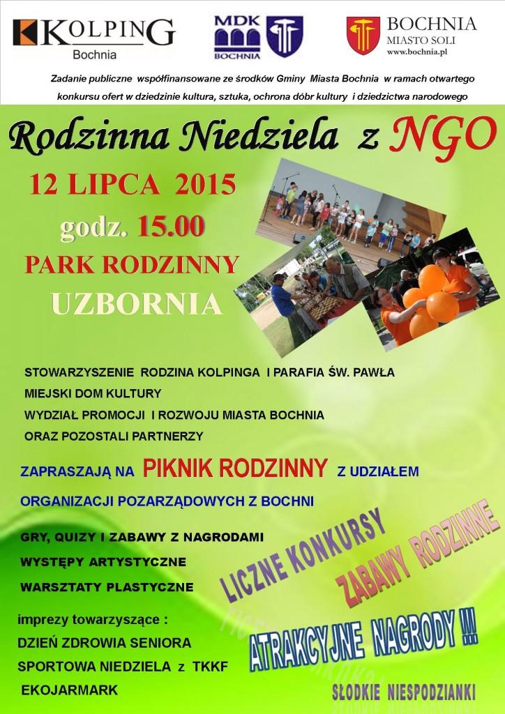 PIKNIK NGO - plakat