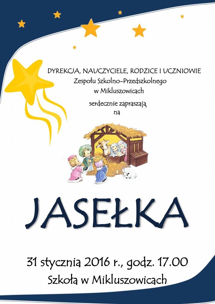 Zaproszenie naJasełka-1