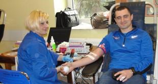 Akcja krwiodawców w gminie Drwinia