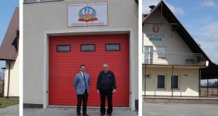Nowa brama garażowa w OSP Ostrów Królewski