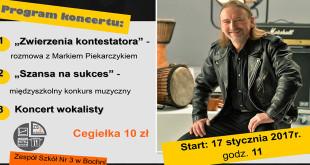 Marek Piekarczyk charytatywnie w Ekonomikuu