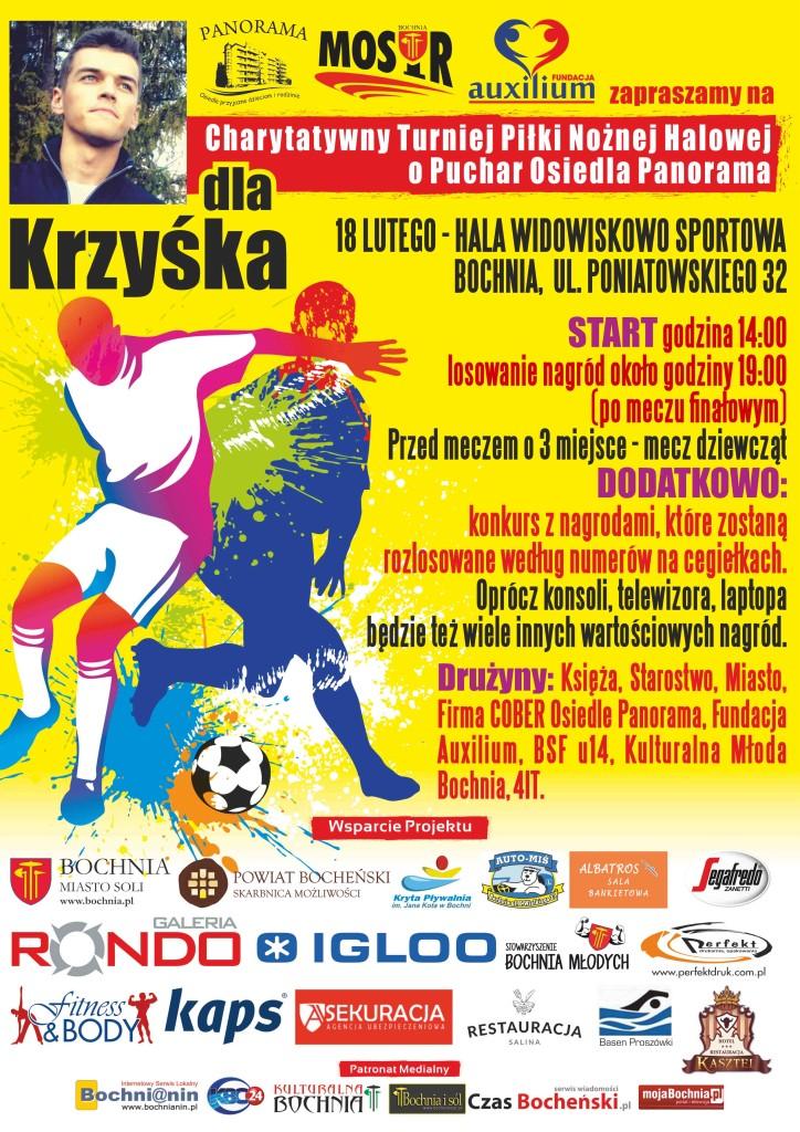 Plakat dla Krzychau